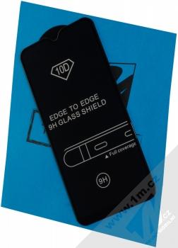1Mcz Glass 10D ochranné tvrzené sklo na kompletní displej pro Samsung Galaxy A20e černá (black)