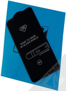 1Mcz Glass 10D tvrzené sklo na celou přední stranu pro Xiaomi Redmi Note 9 černá (black)
