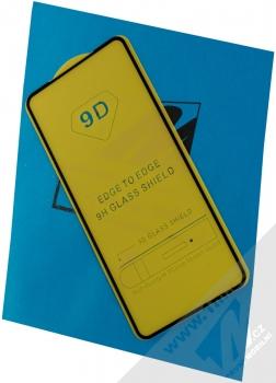 1Mcz Glass 5D Smart tvrzené sklo na celou přední stranu pro Samsung Galaxy A51, Galaxy A51 5G černá (black)