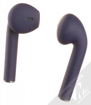 1Mcz i12 inPods Simple TWS Bluetooth stereo sluchátka modrá (blue) zezadu