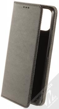 1Mcz Magnet Book Color flipové pouzdro pro Xiaomi Mi 11 Lite, Mi 11 Lite 5G černá (black)