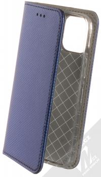 1Mcz Magnet Book flipové pouzdro pro Apple iPhone 12 mini tmavě modrá (dark blue)