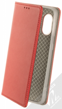 1Mcz Magnet Book flipové pouzdro pro Samsung Galaxy Xcover 5 červená (red)