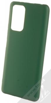 1Mcz Matt TPU ochranný silikonový kryt pro Xiaomi Redmi Note 10 Pro, Redmi Note 10 Pro Max tmavě zelená (forest green)