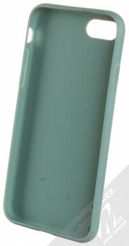 1Mcz Matt TPU ochranný silikonový kryt pro Apple iPhone 7, iPhone 8, iPhone SE (2020) modrošedá (gray blue) zepředu