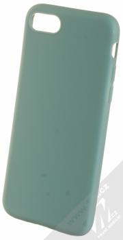 1Mcz Matt TPU ochranný silikonový kryt pro Apple iPhone 7, iPhone 8, iPhone SE (2020) modrošedá (gray blue)