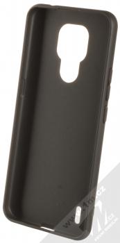 1Mcz Matt TPU ochranný silikonový kryt pro Motorola Moto E7 černá (black) zepředu