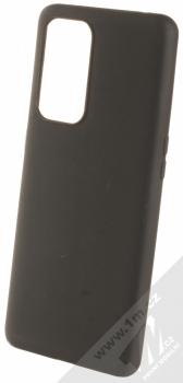1Mcz Matt TPU ochranný silikonový kryt pro OnePlus 9 Pro černá (black)