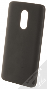 1Mcz Matt TPU ochranný kryt pro Xiaomi Redmi Note 4 (Global Version) černá (black)