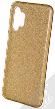 1Mcz Shining TPU třpytivý ochranný kryt pro Samsung Galaxy A32 5G zlatá (gold)
