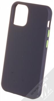 1Mcz Solid TPU ochranný kryt pro Apple iPhone 12 mini tmavě modrá (navy blue)
