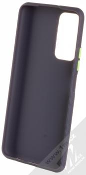 1Mcz Solid TPU ochranný kryt pro Huawei P Smart (2021) tmavě modrá (navy blue) zepředu