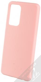1Mcz Solid TPU ochranný kryt pro Samsung Galaxy A52, Galaxy A52 5G, Galaxy A52s 5G světle růžová (light pink)