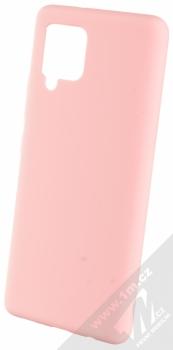 1Mcz Solid TPU ochranný kryt pro Samsung Galaxy A42 5G světle růžová (light pink)
