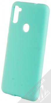 1Mcz Solid TPU ochranný kryt pro Samsung Galaxy M11 mátově zelená (mint green)