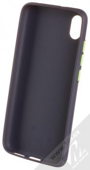 1Mcz Solid TPU ochranný kryt pro Xiaomi Redmi 7A tmavě modrá (navy blue) zepředu