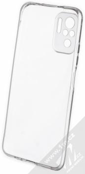 1Mcz TPU Skinny ochranný kryt pro Xiaomi Redmi Note 10 průhledná (transparent) zepředu