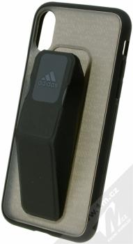 Adidas Grip Case ochranný kryt s úchytem na ruku pro Apple iPhone X (CJ3524) černá (black)