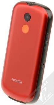 ALIGATOR A880 SENIOR červená (red) šikmo zezadu
