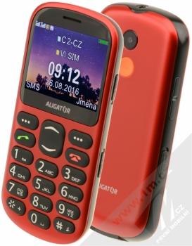ALIGATOR A880 SENIOR červená (red)