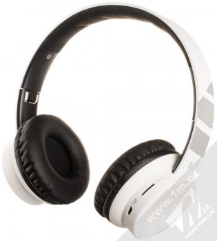 Aligator AH02 Bluetooth stereo sluchátka bílá černá (white black)