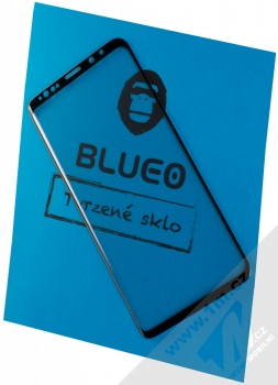 Blueo 3D Mr. Monkey 3D Curved Hot Bending Craft Tempered Glass ochranné tvrzené sklo na kompletní zahnutý displej pro Samsung Galaxy S9 Plus černá (black)