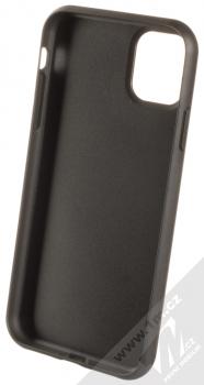 BMW Signature Perforated Leather ochranný kryt z pravé kůže pro Apple iPhone 11 (BMHCPN61PEBOBK) černá (black) zepředu