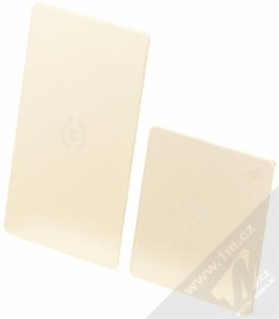 Celly Ghost Plates univerzální kovové plíšky se samonalepovací podložkou zlatá (gold)