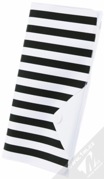 Celly Splash Wallet voděodolné pouzdro pro mobilní telefon, mobil, smartphone do 5,7 bílá (white)