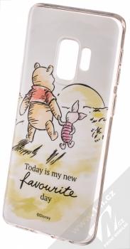 Disney Medvídek Pú a Prasátko 012 TPU ochranný silikonový kryt s motivem pro Samsung Galaxy S9 bílá (white)