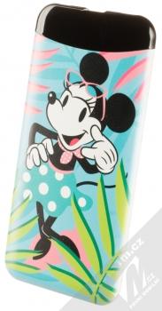 Disney Minnie Mouse 002 Power Bank záložní zdroj 6000mAh s motivem tyrkysová (turquoise)