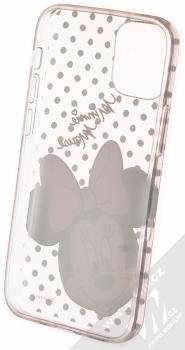 Disney Minnie Mouse 008 TPU ochranný kryt pro Apple iPhone 12 mini průhledná (transparent) zepředu
