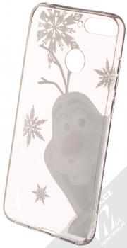 Disney Olaf 002 TPU ochranný silikonový kryt s motivem pro Huawei Y6 Prime (2018), Honor 7A průhledná (transparent) zepředu