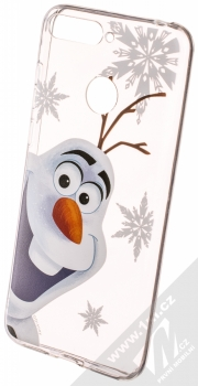 Disney Olaf 002 TPU ochranný silikonový kryt s motivem pro Huawei Y6 Prime (2018), Honor 7A průhledná (transparent)