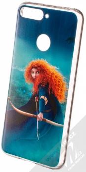 Disney Rebelka 001 TPU ochranný silikonový kryt s motivem pro Huawei Y6 Prime (2018), Honor 7A tyrkysová (turquoise)