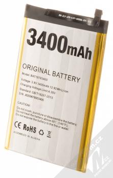 Doogee BAT18783400-2 originální baterie pro Doogee X90L, Y8 stříbrná (silver)