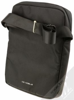 Ferrari Scuderia Universal Tablet univerzální taška přes rameno pro tablety až 10 palců (FESH10BK) zezadu
