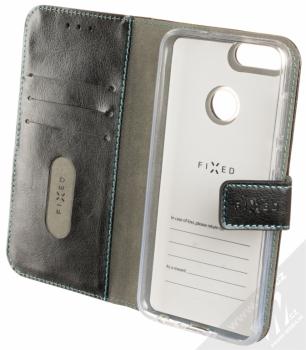 Fixed Opus flipové pouzdro pro Huawei P Smart černá (black) otevřené