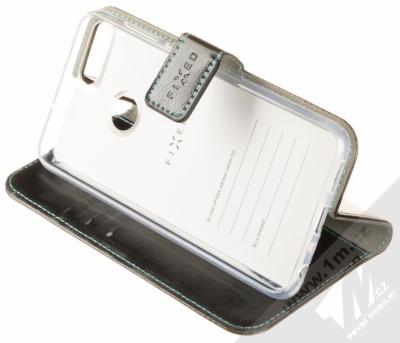 Fixed Opus flipové pouzdro pro Huawei P Smart černá (black) stojánek