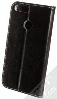 Fixed Opus flipové pouzdro pro Huawei P Smart černá (black) zezadu