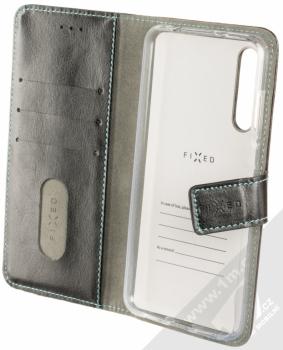 Fixed Opus flipové pouzdro pro Huawei P20 Pro černá (black) otevřené