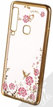 Forcell Diamond TPU ochranný kryt pro Samsung Galaxy A9 (2018) zlatá (gold)