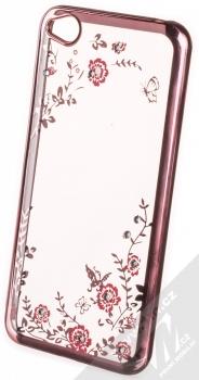 Forcell Diamond TPU ochranný kryt pro Xiaomi Redmi Go růžově zlatá (rose gold)