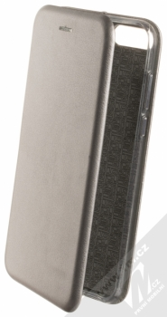 Forcell Elegance Book flipové pouzdro pro Huawei Y7 Prime (2018), Honor 7C kovově šedá (steel)