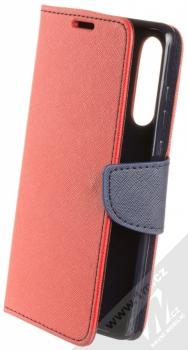 Forcell Fancy Book flipové pouzdro pro Huawei P30 červená modrá (red blue)