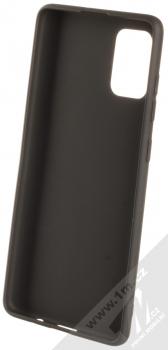 Forcell Jelly Matt Case TPU ochranný silikonový kryt pro Samsung Galaxy A71 černá (black) zepředu