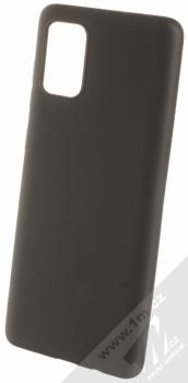 Forcell Jelly Matt Case TPU ochranný silikonový kryt pro Samsung Galaxy A71 černá (black)