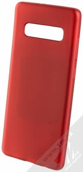 Forcell Jelly Matt Case TPU ochranný silikonový kryt pro Samsung Galaxy S10 Plus červená (red)