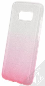 Forcell Shining třpytivý ochranný kryt pro Samsung Galaxy S8 stříbrná růžová (silver pink)