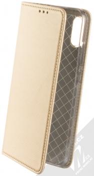 Forcell Smart Book flipové pouzdro pro Xiaomi Redmi Note 7 zlatá (gold)